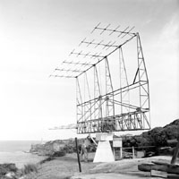 Photo: A 12-element Yagi antenna, built in 1952