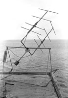 Photo: A 2-element yagi antenna, built in 1947
