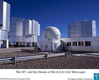 VLTI with first 1.8m Auxiliary Telescope
