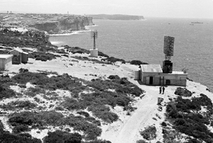 Radar station at Dover Heights