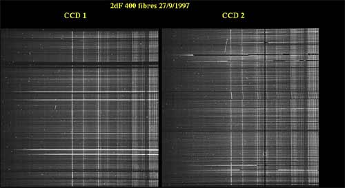 400 spectra from a 2dF observation