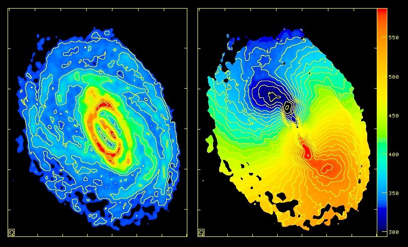 neutral hydrogen gas in the circinus galaxy