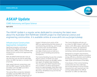 The front page of the ASKAP Update.
