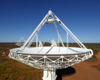 The Mk II phased array feeds. Credit: CSIRO