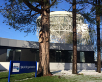 An image of the current HQ of the SKA Organisation, at Jodrell Bank in Manchester, UK.