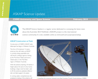 ASKAP Science Update is a regular publication dedicated to conveying the latest news about ASKAP to the international science community.