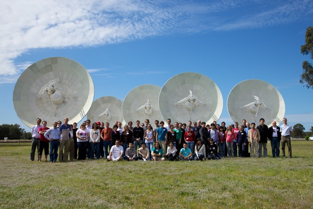 CASS Radio Astronomy School 2010 Group Photo